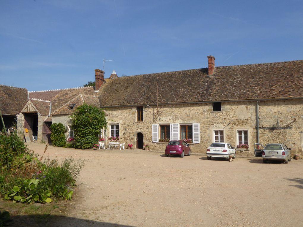 Randonnée de Dourdan à Saint-Chéron - 21 km.