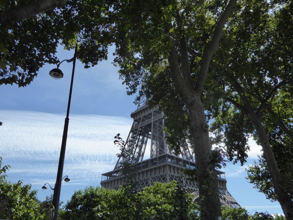 Promenade/Randonnée à Paris - Été 2016 - 12,5 km.