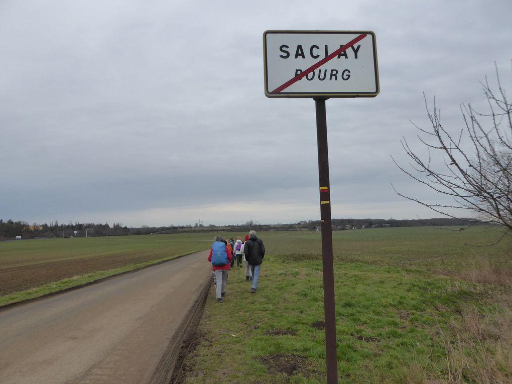 Randonnée ceinture verte de l'île-de-France- Etape 2 - 19,7 km. Suite et fin.