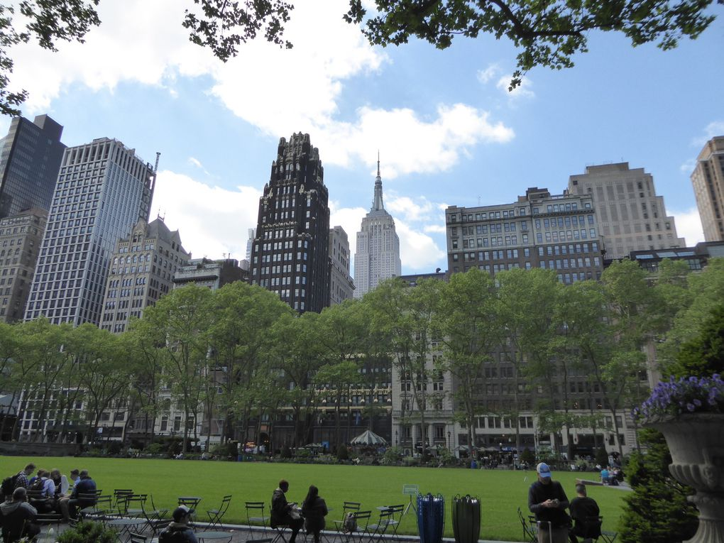 New-York City, Bryant Park et Grand Central - Mai 2017