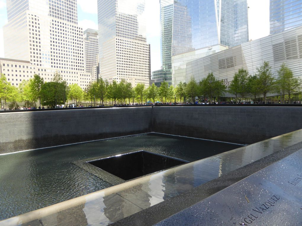 New-York City, 9/11 Memorial - Mai 2017.