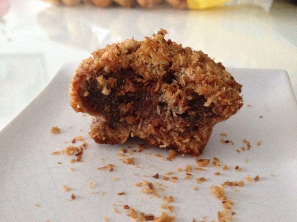 Fondants au chocolat praliné coco