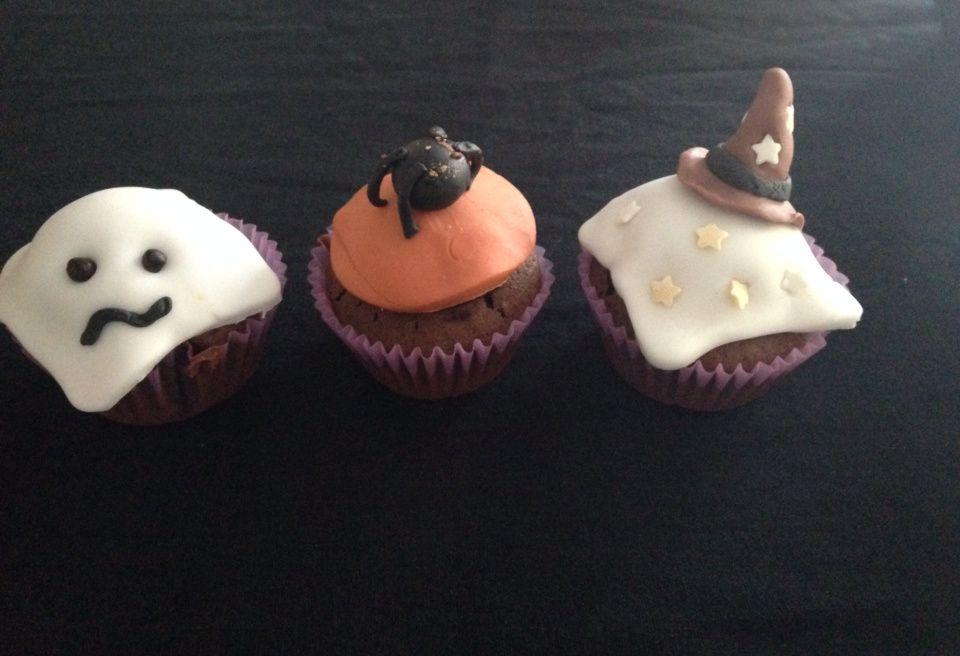 Cupcakes halloween tout chocolat
