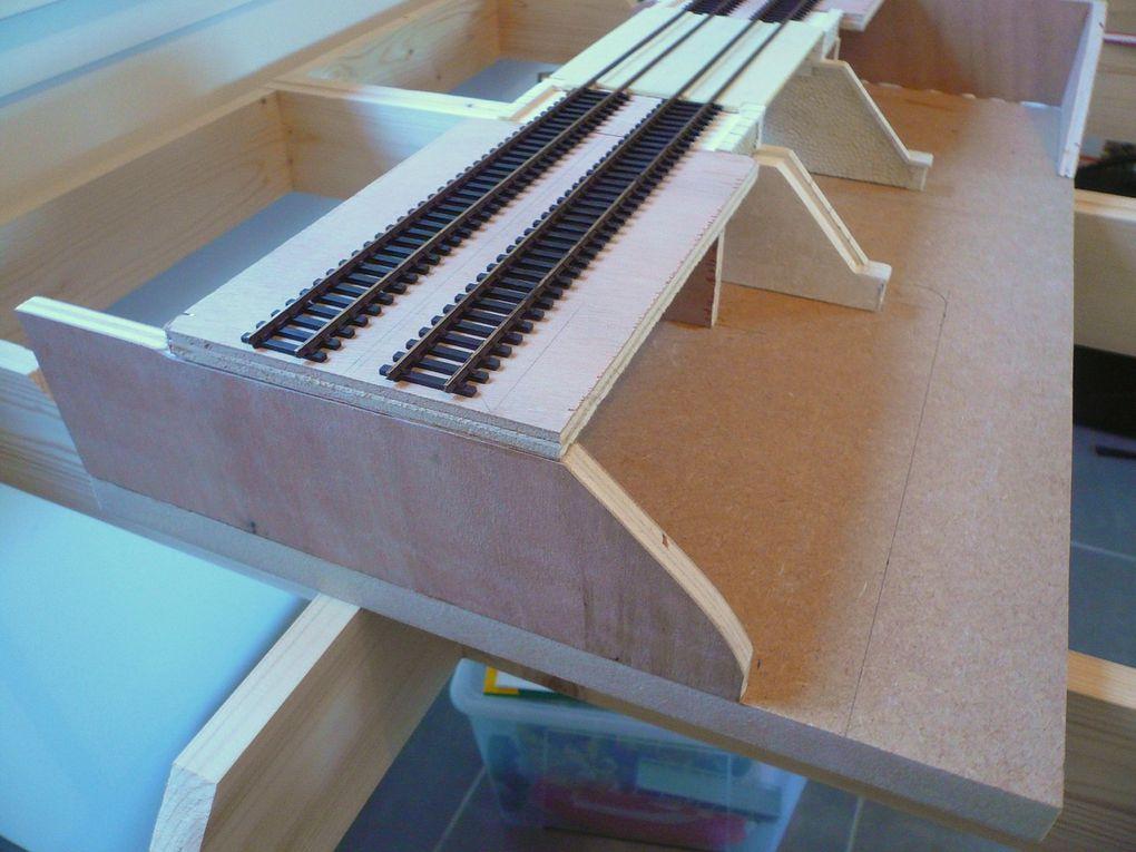 "Diorama ""Pont métallique"""