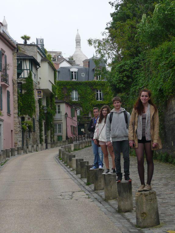 Paris:  La Butte de Montmartre - lieu préféré par les élèves tchèques