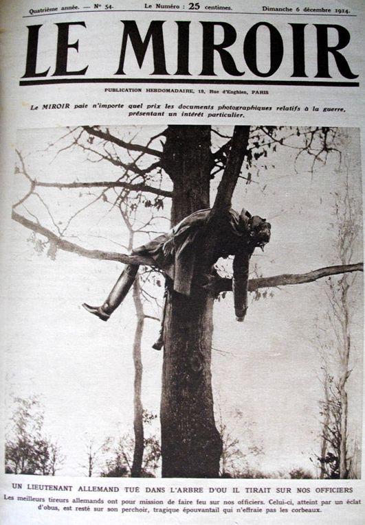 Plusieurs Unes du Miroir à faire défiler: 06/12/1914 - 27/09/1914 - 08/10/1916 - ? - 28/11/1915 - 27/08/1916 - 03/09/1916. Google Images
