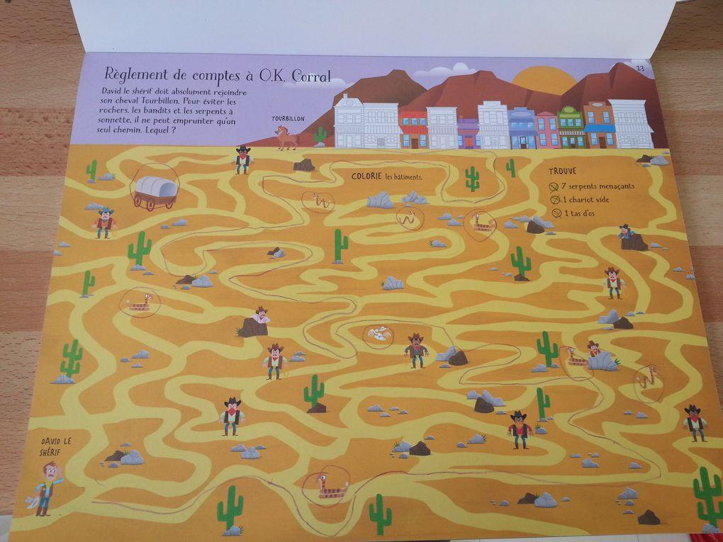 Jouer et découvrir #33 – Labyrinthes (Usborne – dès 5 ans)