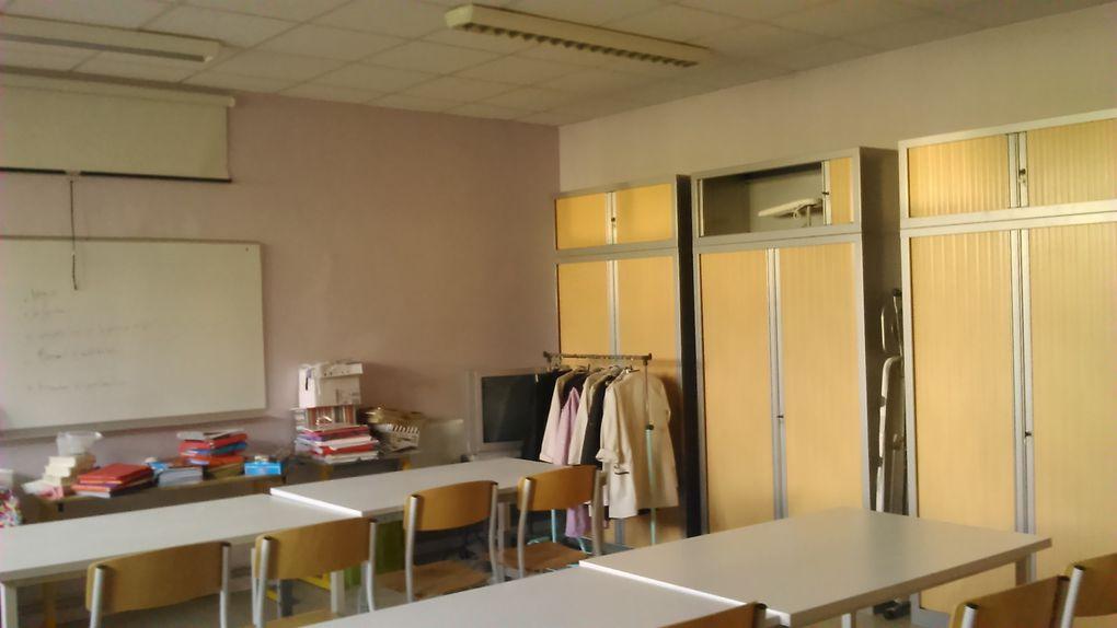 Et voilà une belle salle 7 tout juste terminée avant les vacances de Noël !!