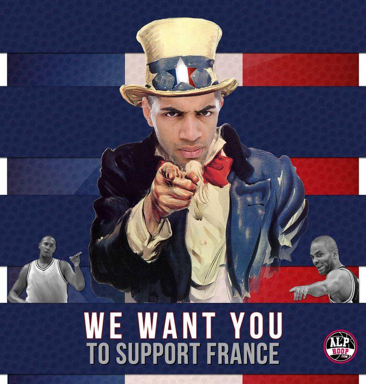 Quelques montages de joueurs de l'équipe de France pris sur le net