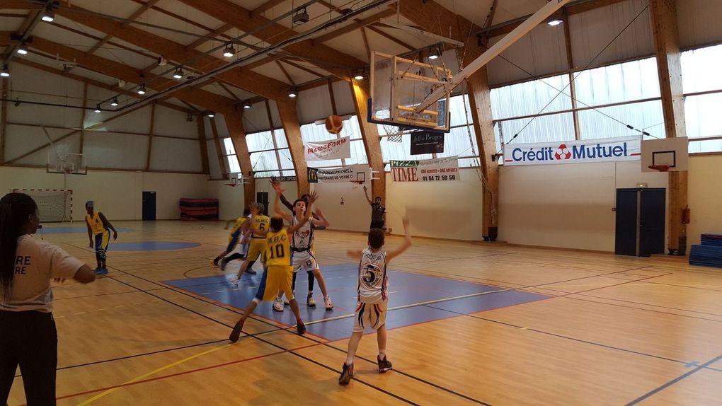 1 ère victoire pour leur second match de nos benjamins 1 face à Moissy au 1er niveau régional