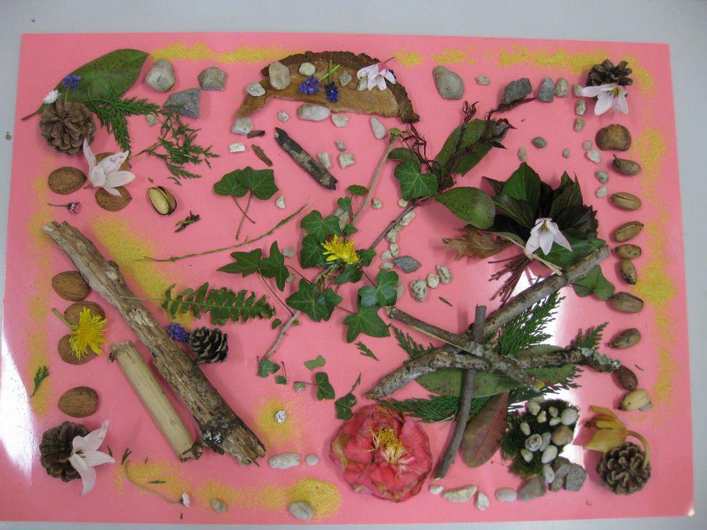 LANDART : créer des oeuvres éphémères avec des éléments naturels