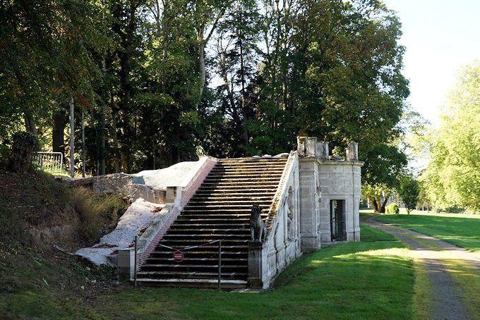 Parc du château de Gerbéviller
