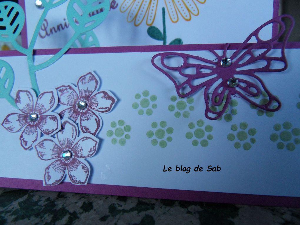 Carte anniversaire femme