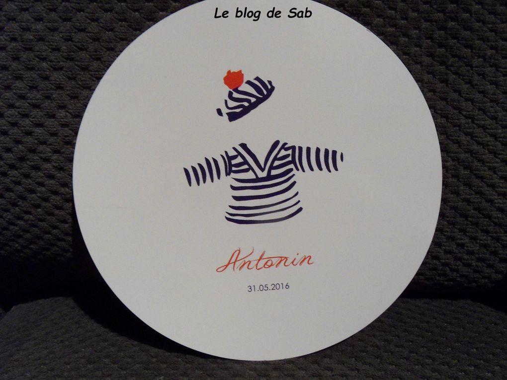 Carte félicitation naissance garçon