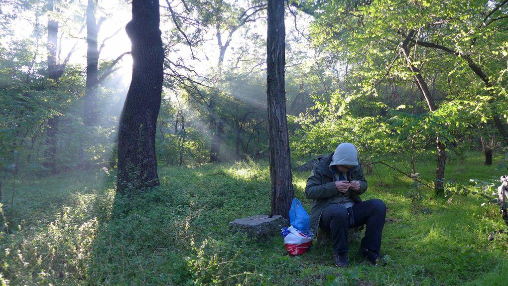 Un peu de notre vie nomade