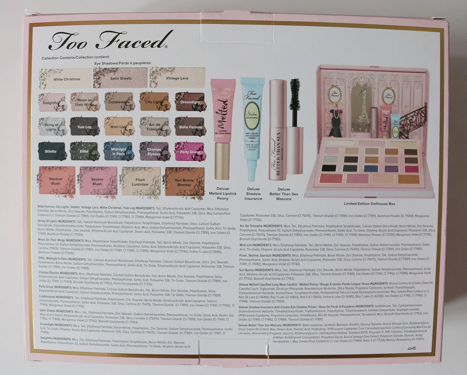 Collection Noël 2015 de Too Faced