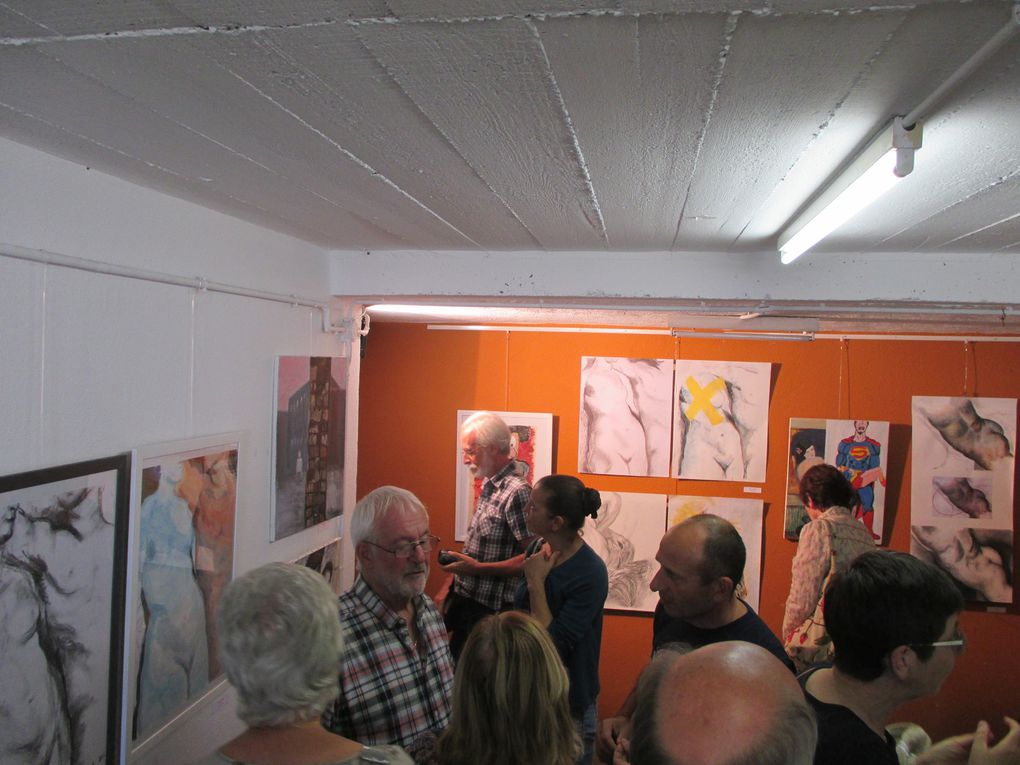 affluence a l expo de l atelier