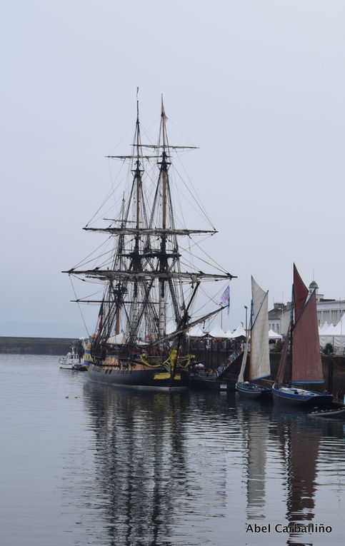 Des photos de l' Hermione