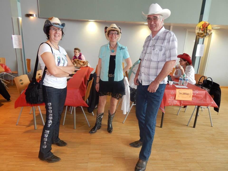 Bal des Cowboy country 45 à St Geneviève des Bois le 8 mars 2015