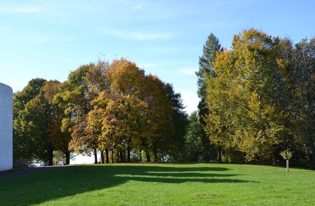 Le corbusier à Ronchamp - automne