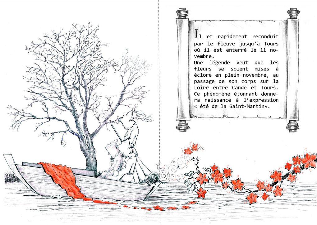 L'histoire de Saint Martin raccontée aux enfants
