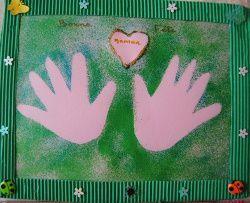 Empreintes des mains