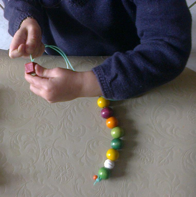 Enfilage de perles