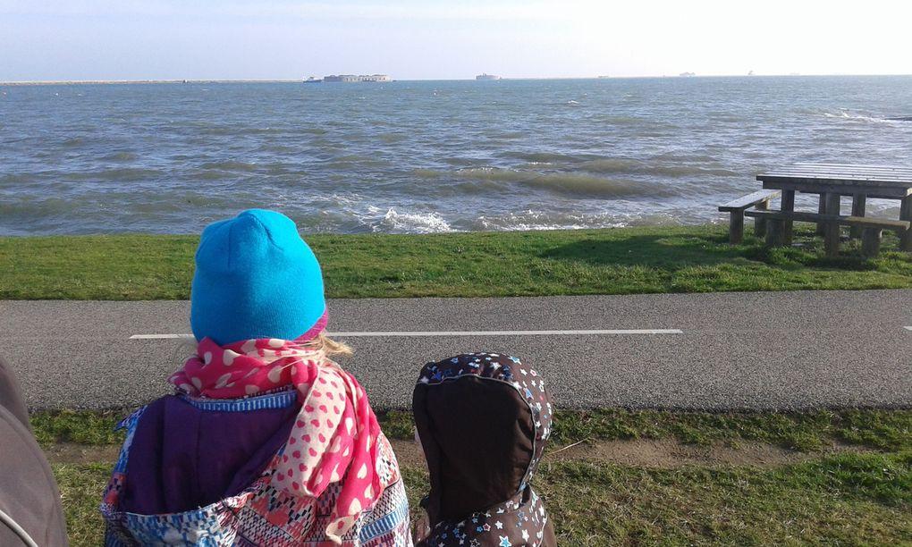 petite promenade en bord de mer ce matin