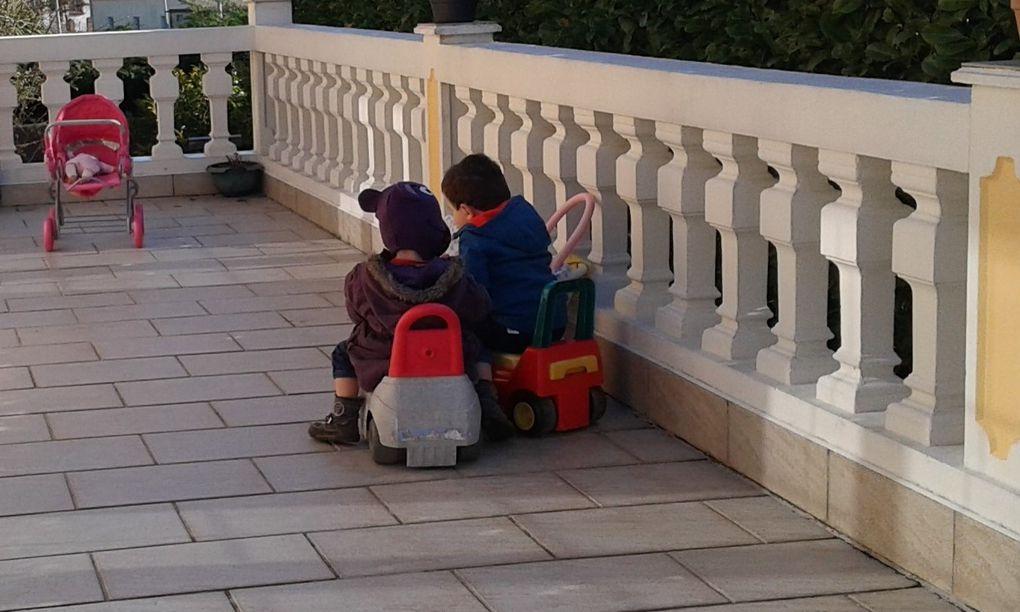 Profitons de la terrasse et du beau temps