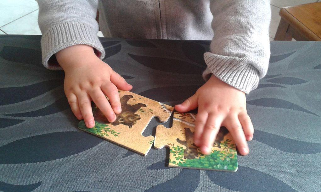 Puzzles maman et ses petits
