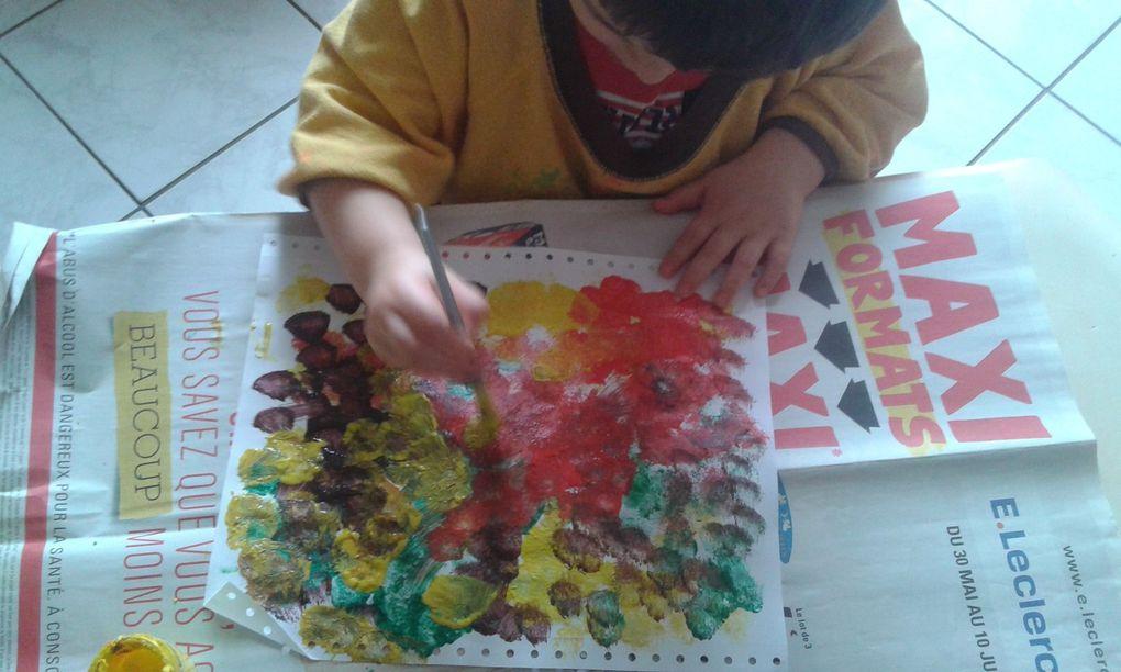 Peinture aux couleurs de l'Automne