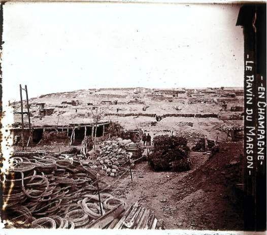 Photos du ravin du Marson. La dernière est prise dans les ruines de Beauséjour, cliquez dessus.