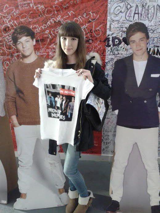 Concours One Direction : Gagnez des lots de T-Shirt et Bracelets !