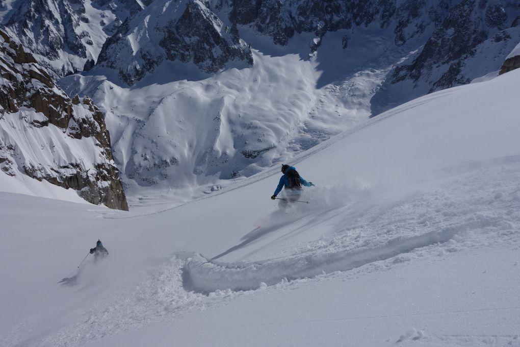 http://www.geromegualaguidechamonix.com Ski Hors Pistes, Free Ride, Héliski, Vallée Blanche, Rando et Raid à ski, Cascade de Glace, Alpinisme, Escalade, Grande Voie, Mont-Blanc, Canyon, Trekking, Voyage, Expédition