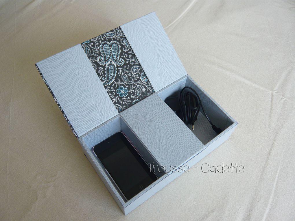 album cartonnage trousse cadette. Black Bedroom Furniture Sets. Home Design Ideas