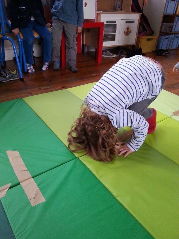Quelques séances de Judo chez les Moyens, Grands et CP !
