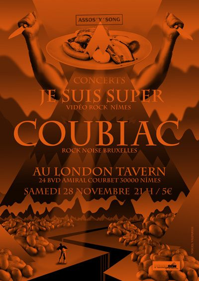 Samedi 28 novembre au London Tavern