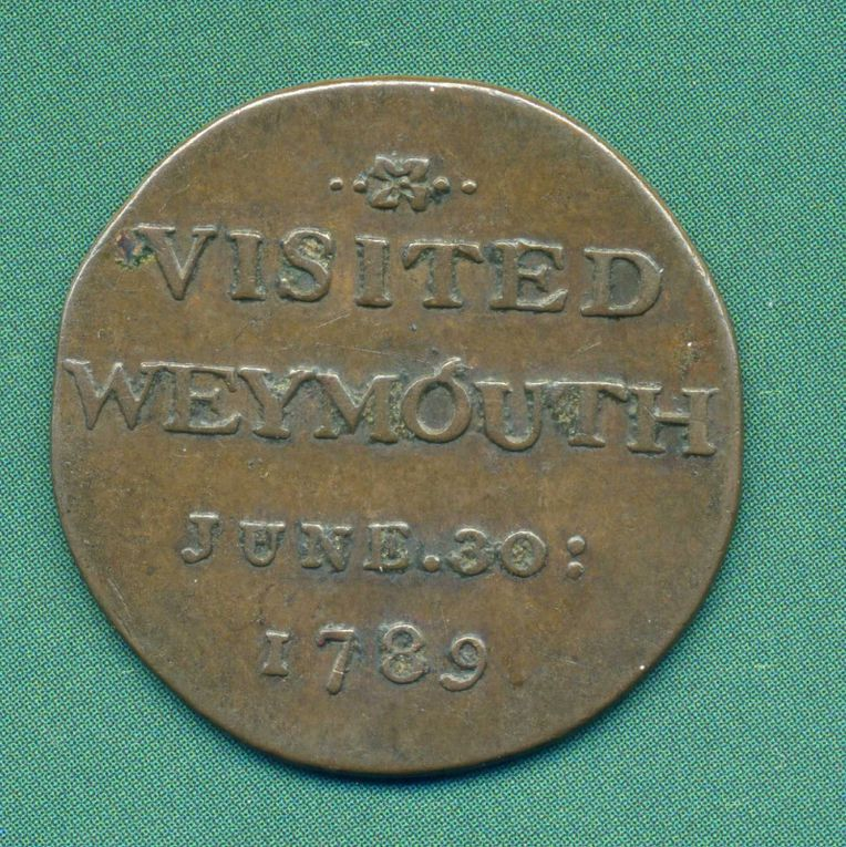 VISITED WEYMOUTH JUNE . 30 : 1789