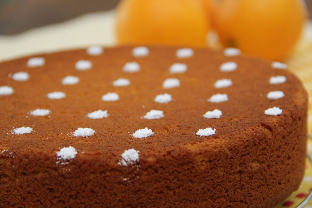 Gâteau à l'Orange et aux Amandes Sans Gluten - Gluten free Orange and Almonds Cake