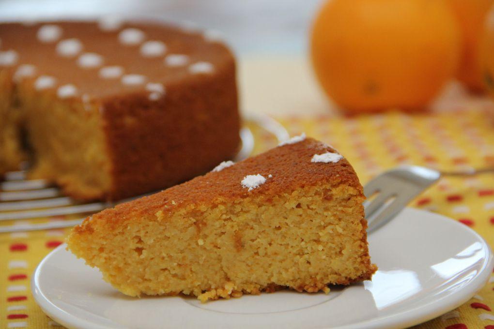 Gâteau à l'Orange et aux Amandes Sans Gluten - Gluten free Orange and Almonds Cake