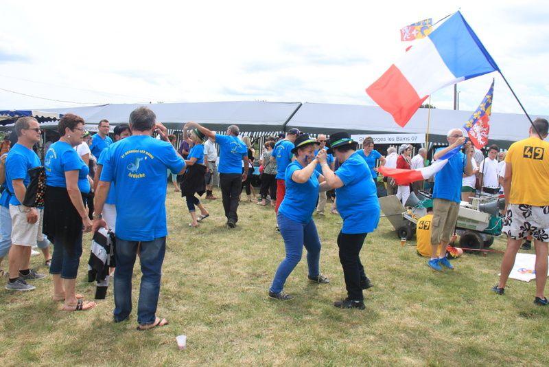 28ème RASSEMBLEMENT DES ST GEORGES DE FRANCE à ST GEORGES D'AURAC