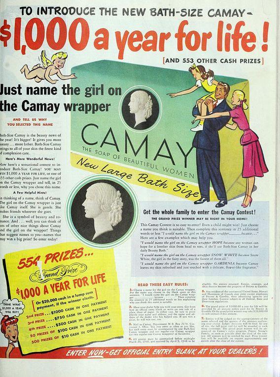 Pub rétro : Camay