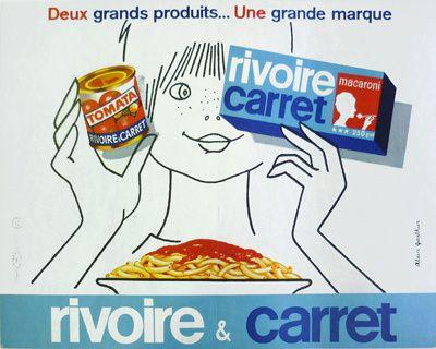 Pub rétro : Rivoire et Carret