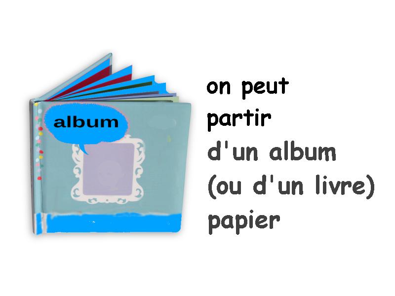 Albums Accessibles 2016 : Le projet  au jour le jour...