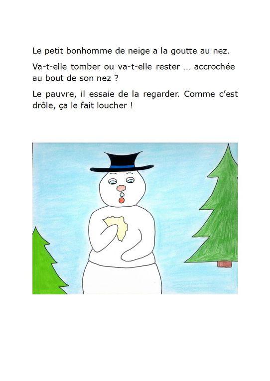 Albums Accessibles : Le Petit bonhomme de neige...