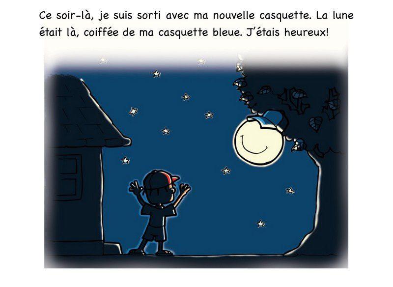 Albums Accessibles: La Lune et la Casquette ...