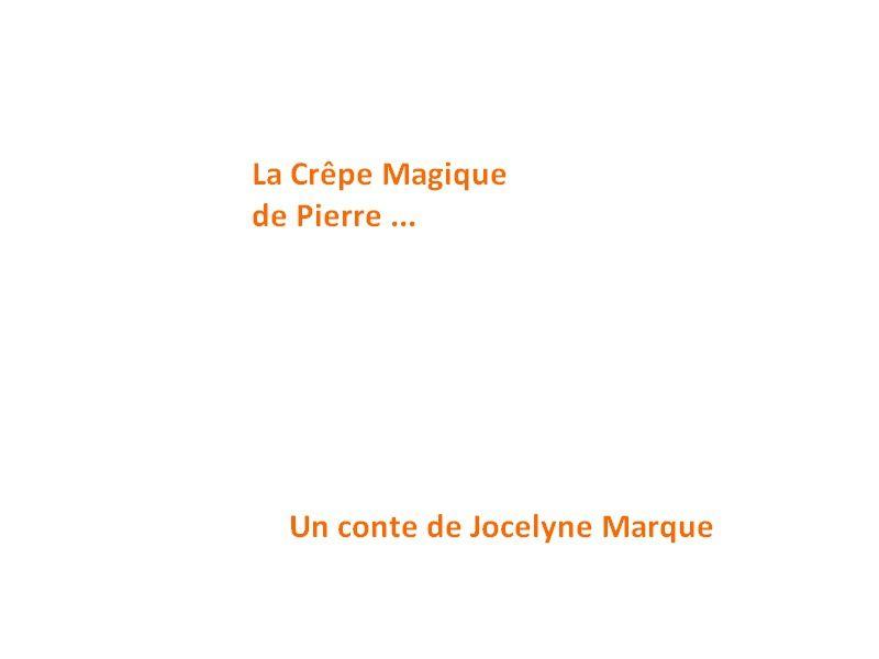 Albums Accessibles: La crêpe magique de Pierre...