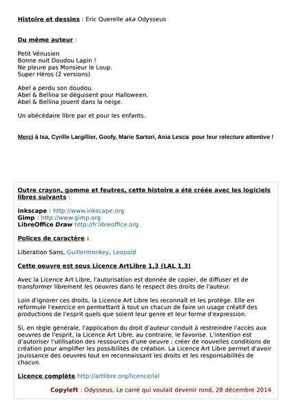 Albums Accessibles: Le Carré qui voulait devenir Rond...