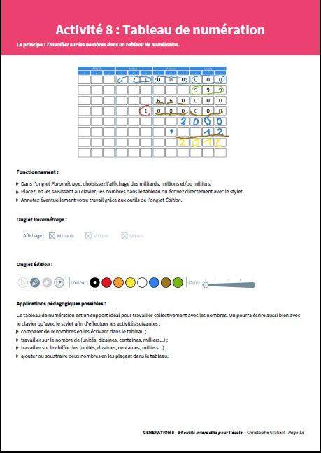 34 Outils Interactifs pour l'École...