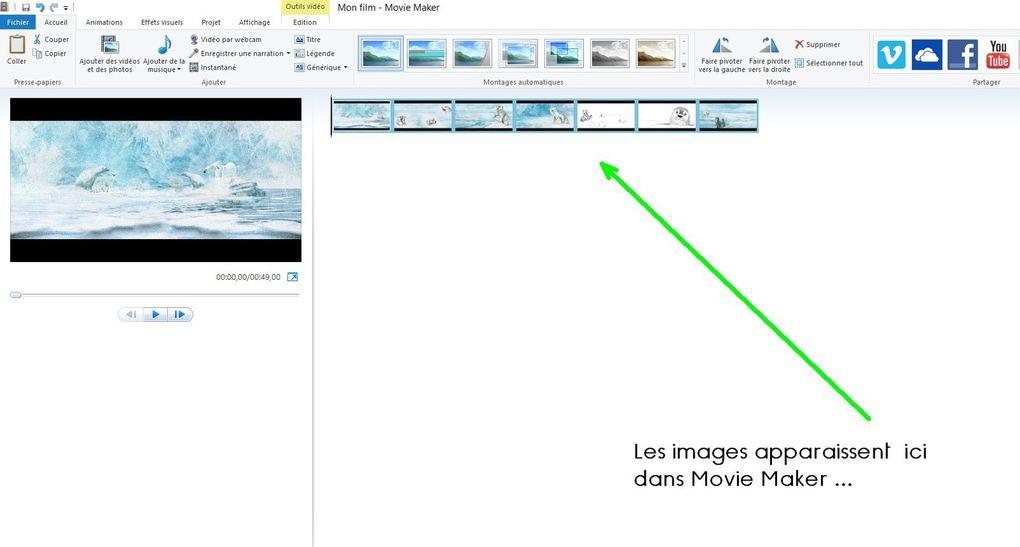 Synchroniser Images et Son dans Windows Movie Maker...